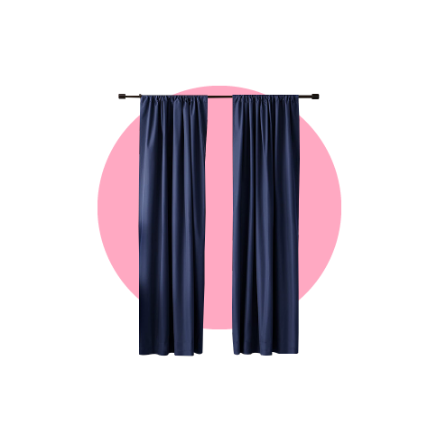 Curtains and textiles